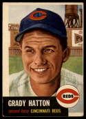 1953 Topps #45 Grady Hatton DP VG/EX Very Good/Excellent