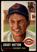 1953 Topps #45 Grady Hatton DP G/VG Good/Very Good