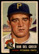 1953 Topps #48 Bobby Del Greco DP EX Excellent