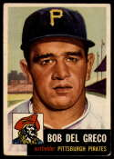 1953 Topps #48 Bobby Del Greco DP VG/EX Very Good/Excellent