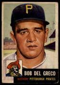 1953 Topps #48 Bobby Del Greco DP VG Very Good