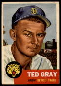 1953 Topps #52 Ted Gray DP VG Very Good