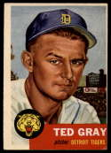 1953 Topps #52 Ted Gray DP VG/EX Very Good/Excellent