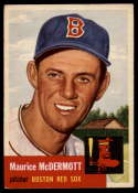 1953 Topps #55 Mickey McDermott DP VG/EX Very Good/Excellent