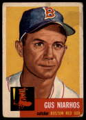 1953 Topps #63 Gus Niarhos DP G/VG Good/Very Good