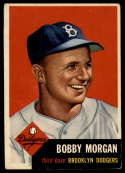 1953 Topps #85 Bobby Morgan DP VG Very Good