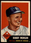 1953 Topps #85 Bobby Morgan DP VG/EX Very Good/Excellent