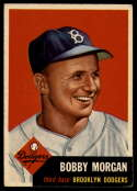 1953 Topps #85 Bobby Morgan DP EX Excellent