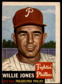 1953 Topps #88 Willie Jones DP VG Very Good