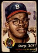 1953 Topps #3 George Crowe UER P Poor