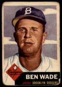 1953 Topps #4 Ben Wade G Good