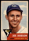 1953 Topps #5 Joe Dobson VG Very Good