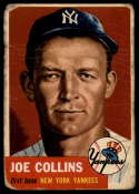 1953 Topps #9 Joe Collins G Good