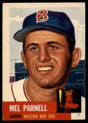 1953 Topps #19 Mel Parnell DP VG Very Good