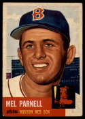 1953 Topps #19 Mel Parnell DP VG/EX Very Good/Excellent