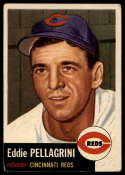 1953 Topps #28 Eddie Pellagrini VG Very Good
