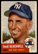 1953 Topps #31 Ewell Blackwell VG/EX Very Good/Excellent