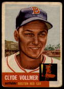 1953 Topps #32 Clyde Vollmer G/VG Good/Very Good