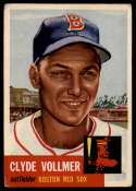 1953 Topps #32 Clyde Vollmer VG Very Good