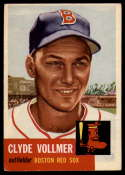 1953 Topps #32 Clyde Vollmer VG/EX Very Good/Excellent