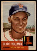 1953 Topps #32 Clyde Vollmer EX Excellent