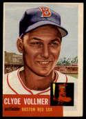 1953 Topps #32 Clyde Vollmer EX Excellent