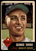 1953 Topps #34 George Shuba G Good