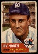 1953 Topps #35 Irv Noren DP G Good
