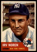 1953 Topps #35 Irv Noren DP VG Very Good