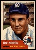 1953 Topps #35 Irv Noren DP EX Excellent