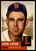 1953 Topps #40 Johnny Lipon EX Excellent
