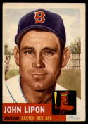 1953 Topps #40 Johnny Lipon VG/EX Very Good/Excellent