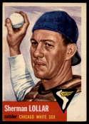 1953 Topps #53 Sherm Lollar DP VG Very Good