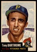 1953 Topps #71 Tony Bartirome EX Excellent