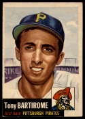 1953 Topps #71 Tony Bartirome VG/EX Very Good/Excellent