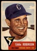 1953 Topps #73 Eddie Robinson VG Very Good