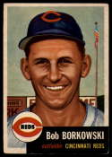 1953 Topps #7 Bob Borkowski DP EX Excellent