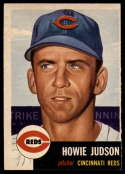 1953 Topps #12 Howie Judson DP EX/NM