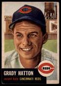 1953 Topps #45 Grady Hatton DP VG Very Good