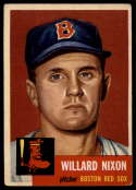 1953 Topps #30 Willard Nixon VG/EX Very Good/Excellent