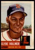 1953 Topps #32 Clyde Vollmer NRMT o-c