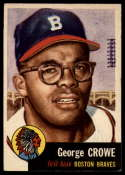 1953 Topps #3 George Crowe UER EX Excellent