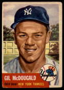 1953 Topps #43 Gil McDougald VG Very Good