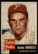 1953 Topps #10 Smoky Burgess EX Excellent SP