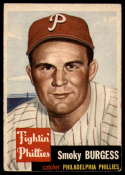 1953 Topps #10 Smoky Burgess VG/EX Very Good/Excellent SP