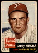 1953 Topps #10 Smoky Burgess VG Very Good SP