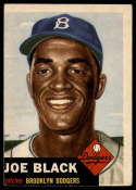 1953 Topps #81 Joe Black VG/EX Very Good/Excellent SP