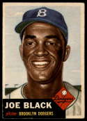 1953 Topps #81 Joe Black EX Excellent SP
