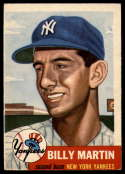 1953 Topps #86 Billy Martin VG Very Good