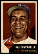 1953 Topps #27 Roy Campanella DP VG/EX Very Good/Excellent